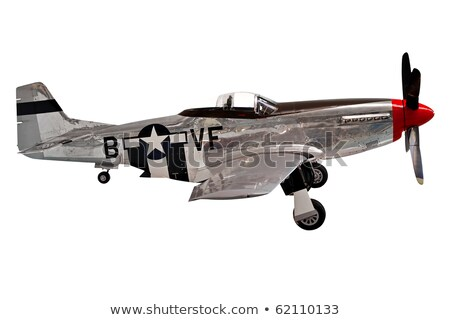 A mustang fighter plane Stock photo © bluering