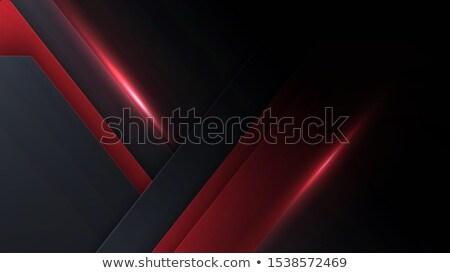Dark red overlap layer paper material design Stock photo © punsayaporn