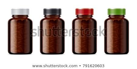 A light brown medical bottle Stock photo © bluering