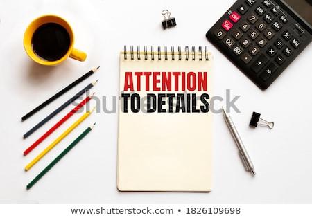 Elvesz kockázat szöveg jegyzettömb toll piros Stock fotó © fuzzbones0