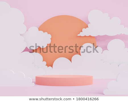 Gombok illusztráció háttér piros laboratórium rózsaszín Stock fotó © bluering