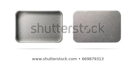 金属 ボックス 先頭 表示 空っぽ 孤立した ストックフォト © coprid
