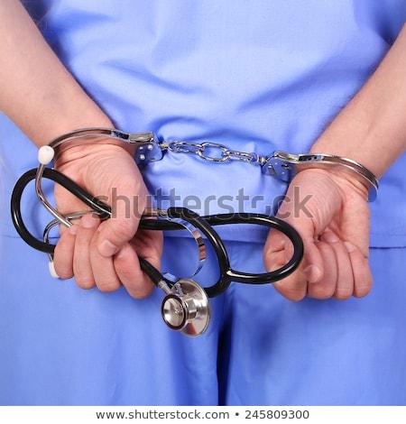 ceza · cerrah · başarısızlık · sağlık · yalıtılmış · beyaz - stok fotoğraf © michaklootwijk