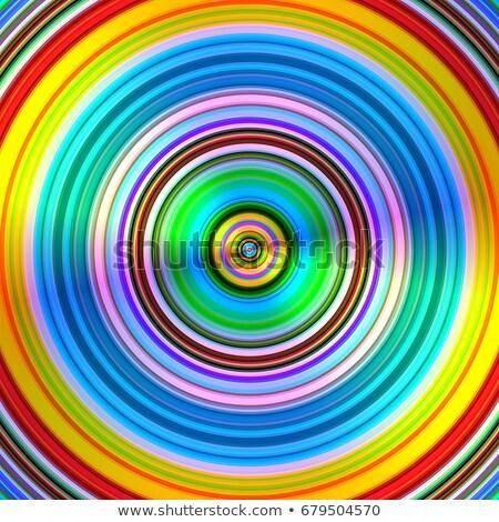 szín · körök · csíkok · illusztráció · művészet · színek - stock fotó © latent