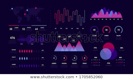 Ui adat terv futurisztikus elemek vektor Stock fotó © Said