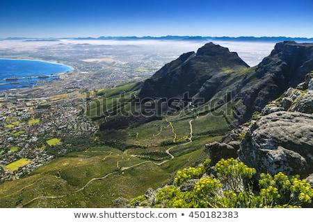 estrada · África · do · Sul · turista · conduzir · tabela - foto stock © thp