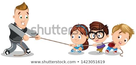 Physical Education Teacher Character Stock photo © robuart