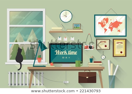 Briefcase Vector Illustration in Flat Design.   Stock photo © robuart