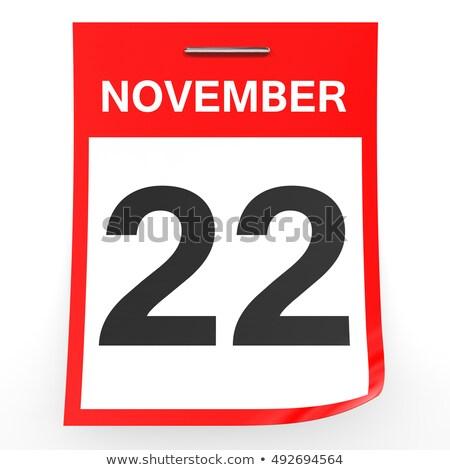 22nd November Stock photo © Oakozhan