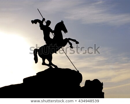 St George monument in Moscow Stock photo © simply