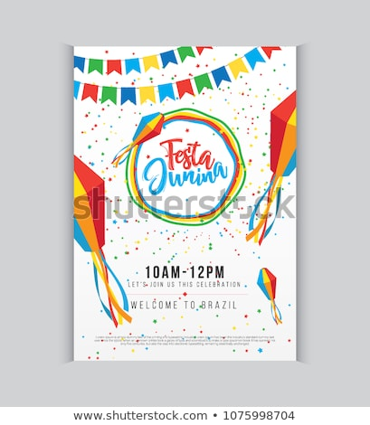 festa junina invitation poster design stock photo © sarts