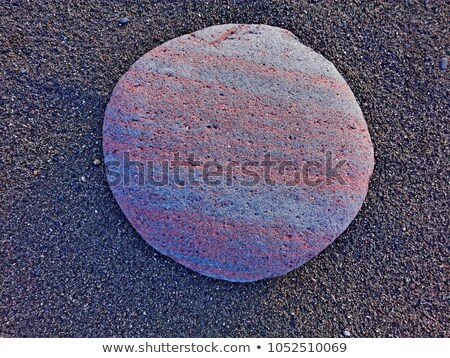 Full Frame Close Up Smooth Pink Granite Background  Stock photo © Qingwa