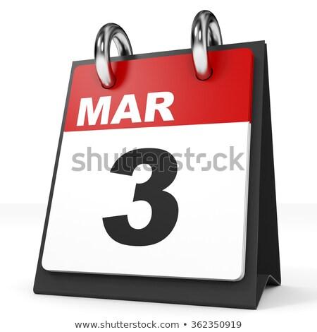 3rd March Stock photo © Oakozhan