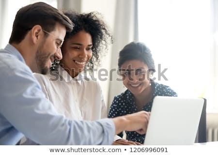 Employee Motivation Concept on Laptop Screen. Stock photo © tashatuvango