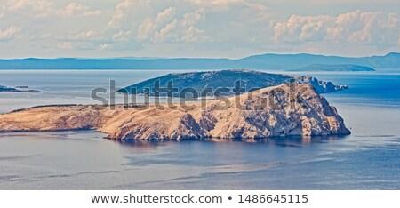 Eiland kanaal Kroatië communist gevangenis naakt Stockfoto © xbrchx