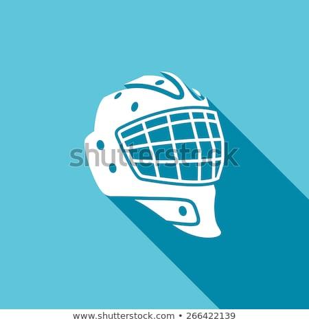 Goaltender Helmet Stock photo © JamiRae