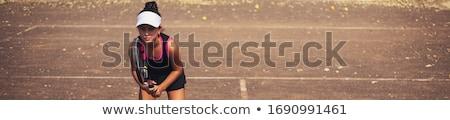 menina · retrato · mulher - foto stock © is2