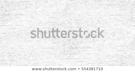 Stock photo: White Brick Wall. Seamless Texture.