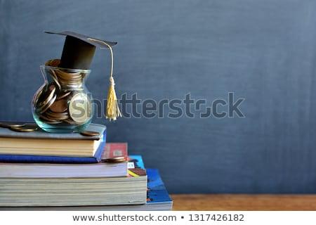 Сток-фото: Education Fund And Book