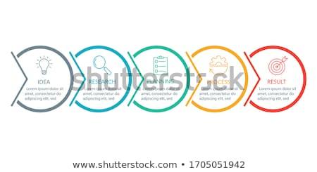 Business diagrammi classifiche info vettore Foto d'archivio © robuart