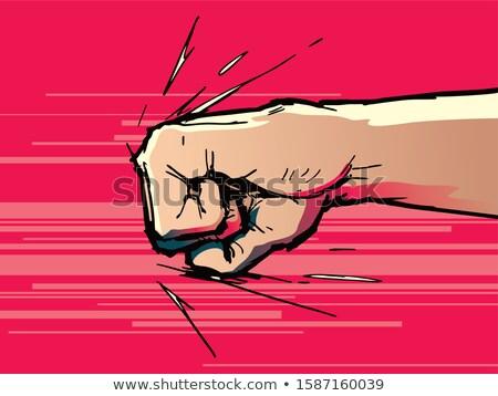 knockout punch stock photo © colematt