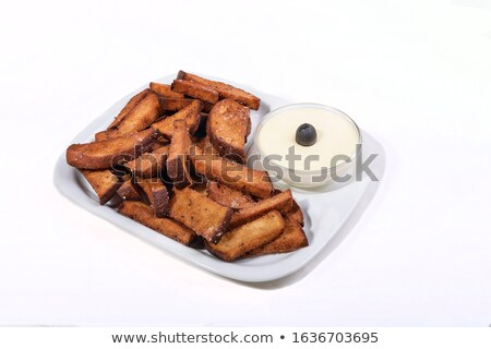 cheese with sause stock photo © agfoto