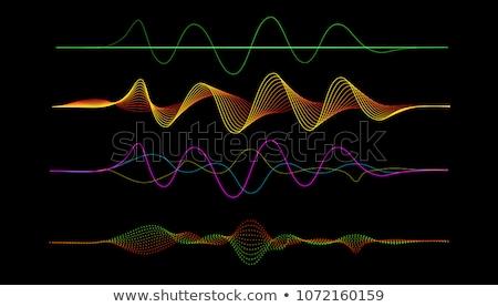 сердце звук ораторов формы сердца музыку Сток-фото © alexaldo
