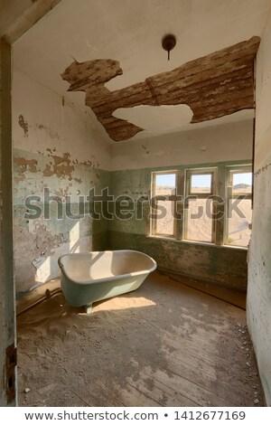 bathtub in a deserted building namibia stock photo © emiddelkoop