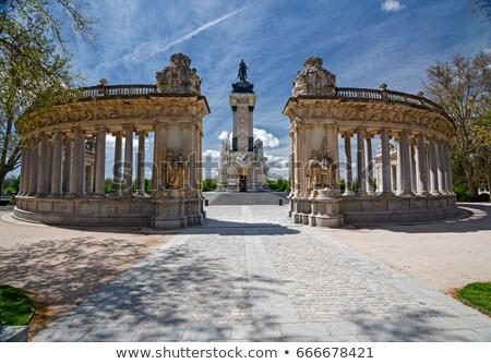Monument to Alfonso XII, Madrid Stock photo © borisb17