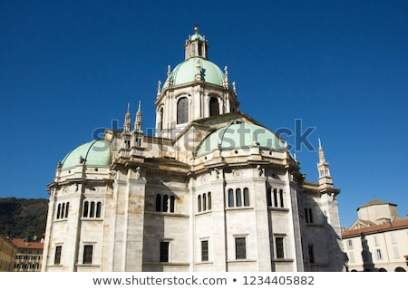 Exterior view of Como Cathedral (Duomo di Como) Stock photo © boggy