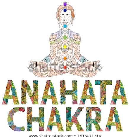 chakra · projeto · símbolo · usado · hinduismo · budismo - foto stock © natalia_1947