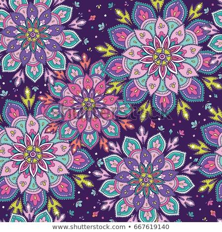 kleurrijk · mandala · decoratie · ontwerp · kunst · patroon - stockfoto © bluering