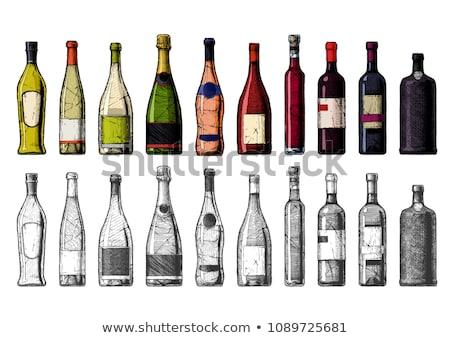 алкоголя напиток бутылку празднования вектора пить Сток-фото © robuart