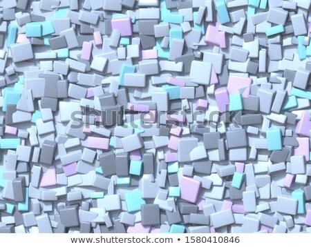 Resumen geométrico cuatro pastel color caótico Foto stock © djmilic