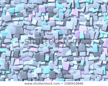 Abstrato geométrico quatro pastel cor caótico Foto stock © djmilic