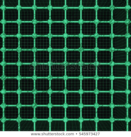 Lattice green heart 3D Stock photo © djmilic