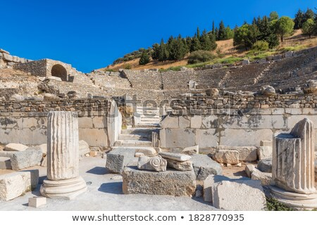 Amphitheater (Coliseum) in Ephesus Stock photo © bloodua
