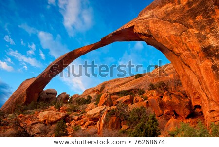 tájkép · ív · nap · hó · sivatag · homok - stock fotó © Pegasi8Imagery