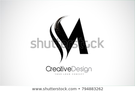 M Letter Logo Template vector Stock photo © Ggs