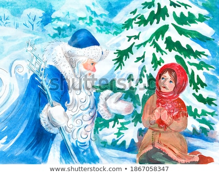 russian santa stock photo © paha_l