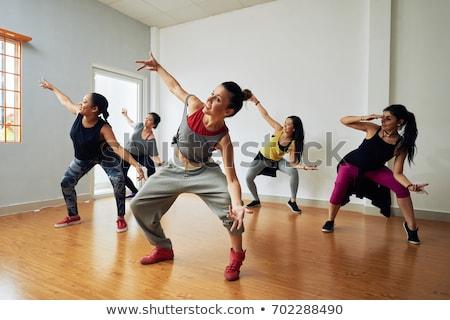 dans · kadın · dans · vücut · sağlık - stok fotoğraf © Paha_L