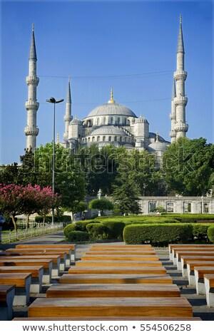 mecset · Törökország · külső · Isztambul · muszlim · vallásos - stock fotó © travelphotography