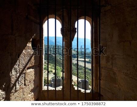 美しい 表示 城 スペイン 家 ストックフォト © Nobilior