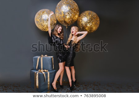Celebrate beauty photoshooting Stock photo © konradbak