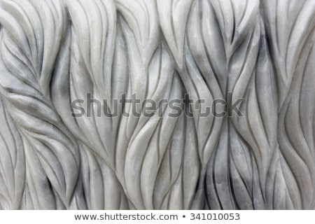 Carved patterns in marble Stock photo © RuslanOmega