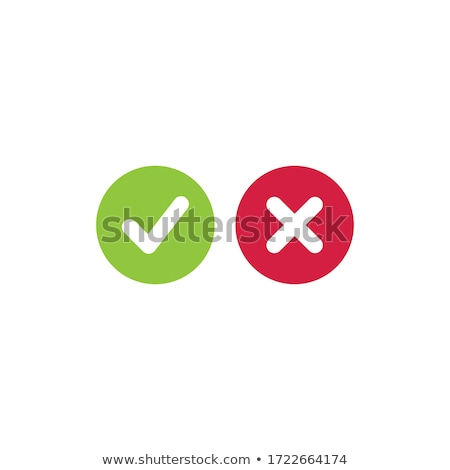 True and false check boxes Stock photo © bbbar