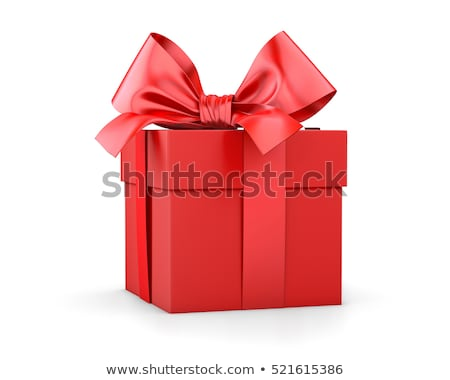 colorful gift red box stock photo © adamson