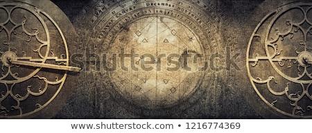 Steampunk elementos cópia espaço ilustração 3d relógio tecnologia Foto stock © drizzd