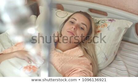 Nurse preparing drip. Stock photo © photography33