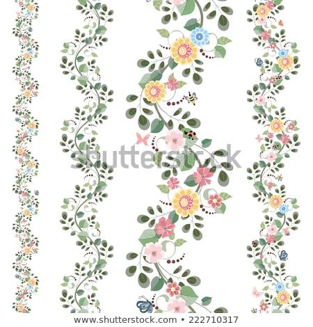 Stock fotó: Virág · keretek · szett · húsvét · fű · természet